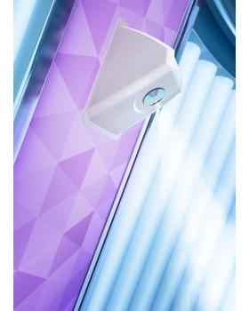 """Вертикальный солярий """"Luxura V8 48 XL Highbrid (2 в 1 )"""""""